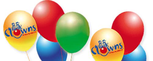 Ballons der Klinikclowns