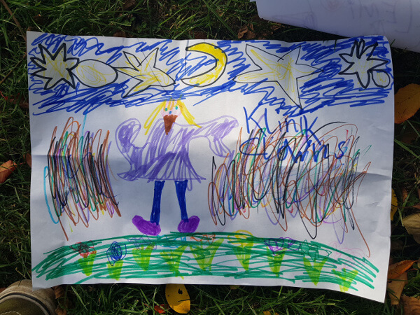Leni, Emilia und Marlon haben für uns gemalt!